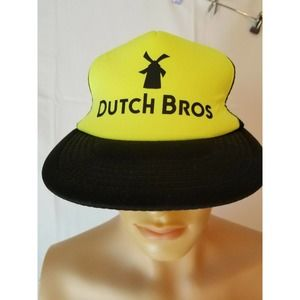 Dutch Bros Spellout Trucker Hat Brothers Coffee